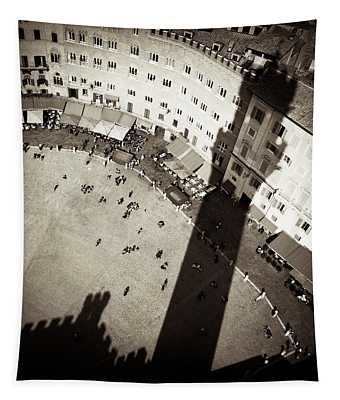 Siena From Above Tapestry