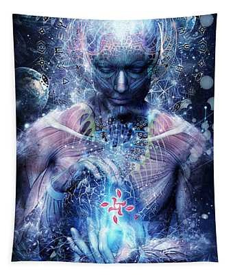Silence Seekers Tapestry