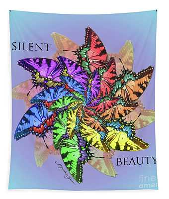 Silent Beauty Tapestry