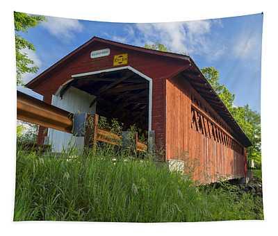 Silk Covered Bridge Tapestry