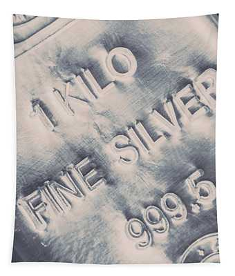 Silver Commodities Tapestry