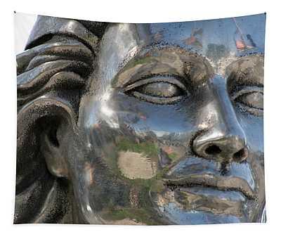 Silver Delores Del Rio Tapestry