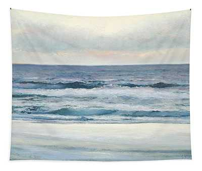Silvery Morn Tapestry