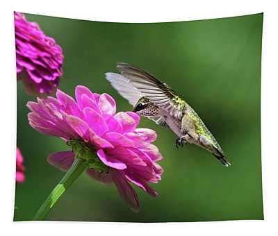 Simple Pleasure Hummingbird Tapestry