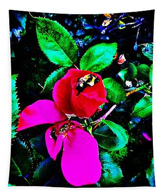 Simply Look With Perceptive Eyes Tapestry