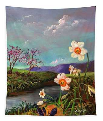 Simply Spring Tapestry