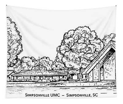 Simpsonville Umc Tapestry