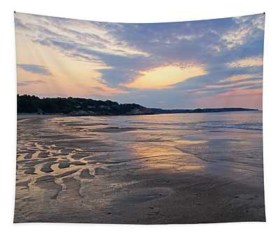 Singing Beach Sandy Beach Manchester By The Sea Ma Sunrise Tapestry