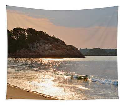 Singing Beach Silver Waves Manchester By The Sea Ma Tapestry
