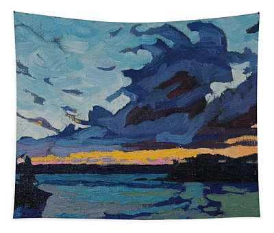 Singleton Sunset Stratocumulus Tapestry