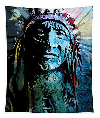 Sioux Chief Tapestry