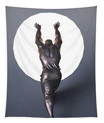 Sisyphus Lamp Tapestry