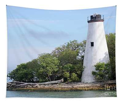 Sister Island Lighthouse Tapestry