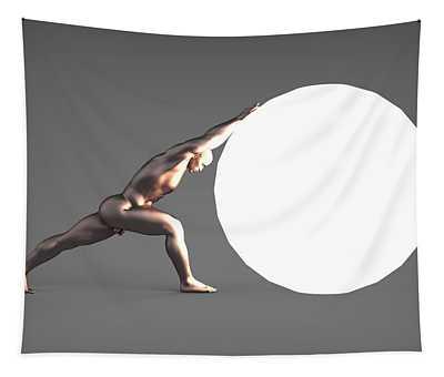 Sisyphus Lamp 06 Tapestry