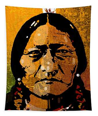 Sitting Bull Tapestry