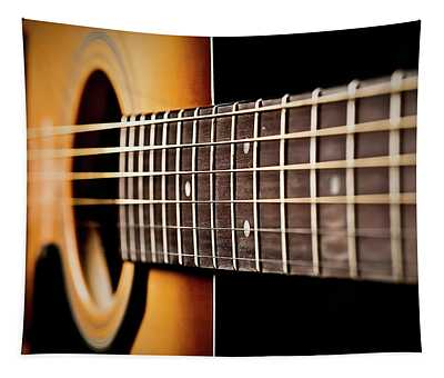 Six String Guitar Tapestry