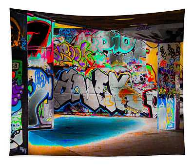 Aerosol Digital Art Wall Tapestries