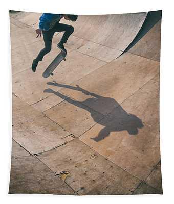 Skater Boy 001 Tapestry