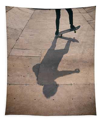 Skater Boy 002 Tapestry