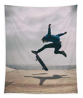 Skater Boy 003 Tapestry