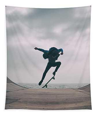 Skater Boy 004 Tapestry