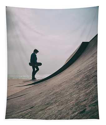Skater Boy 006 Tapestry