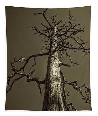 Skeletal Tree Sedona Arizona Tapestry