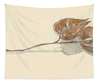 Sketchbook - Golden Rain Tapestry