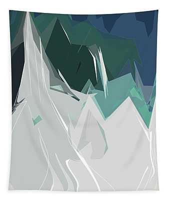Ski Trails Tapestry
