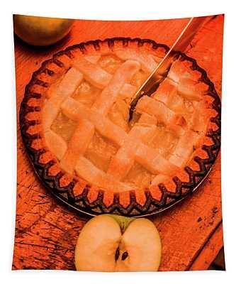 Slicing Apple Pie Tapestry