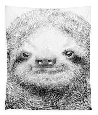 Sloth Tapestry