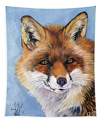 Smiling Fox Tapestry