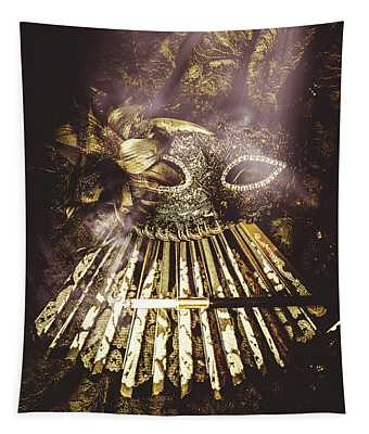 Smoke And Theatres Tapestry