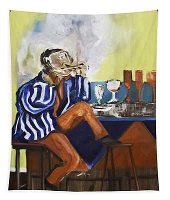 Smoker Tapestry