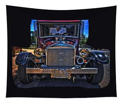 T Bucket In Siletz Tapestry