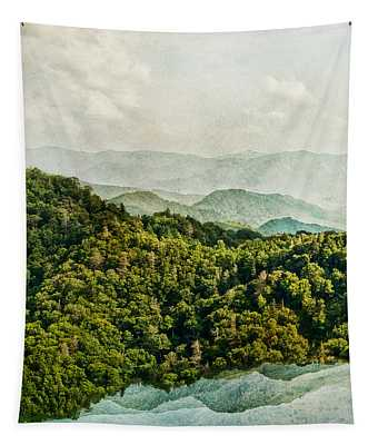 Smoky Mountain Reflections Tapestry
