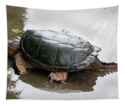 Snapping Turtle Tapestry