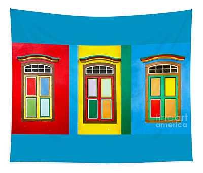 Singapore Windows Tapestry