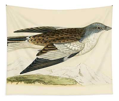 Snow Finch Tapestry