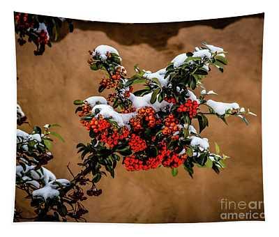Snowberries Tapestry