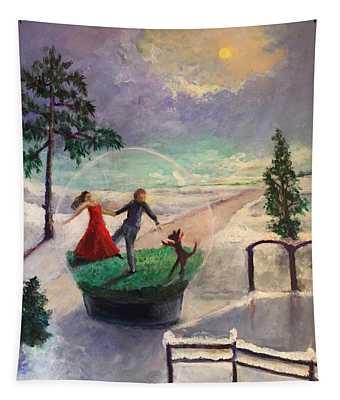 Snowglobe Tapestry