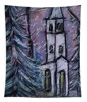 Snowscape Tapestry