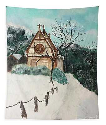 Snowy Daze Tapestry