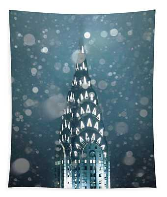 Snowy Spires Tapestry
