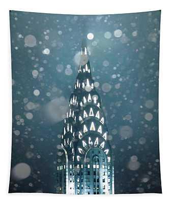 Snowy Spires Tapestry