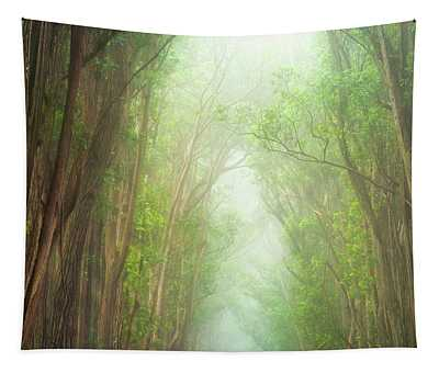 Soft Forest Light Tapestry