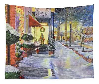 Soft Snowfall In Dahlonega Georgia An Old Fashioned Christmas Tapestry