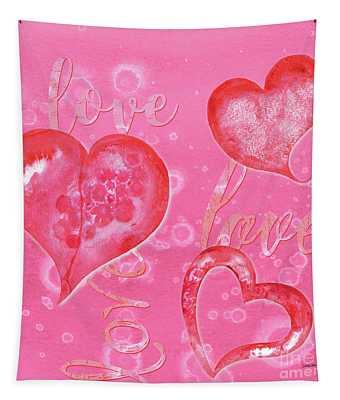 Soft Valentine Tapestry