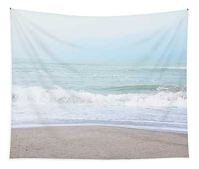 Soft Waves 2- Art By Linda Woods Tapestry