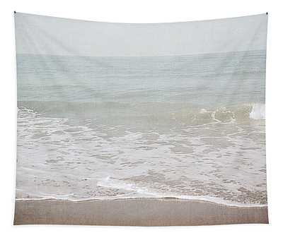 Soft Waves- Art By Linda Woods Tapestry